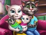Анжела и Том: Уход за близнецами