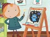 Пег плюс кот: Урок рисования