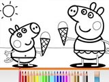 Свинка Пеппа: Книга-раскраска