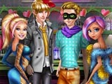 Леди Баг и Супер Барби со своими парнями