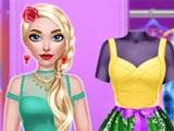 Одевалка: Рози балерина