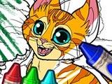 Создай раскраску с животными