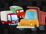 Пазлы с грузовиками