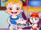 Малышка Хейзел: вечеринка с домашними животными