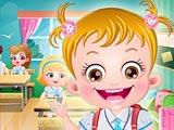 Малышка Хейзел: школьная гигиена