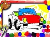 Раскраски машинок для детей