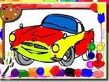 Раскраска гоночных машин