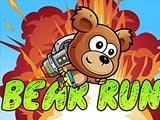 Медведь бежит