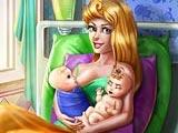 Аврора рожает близнецов