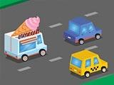Гонка на фургоне мороженщика
