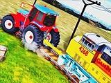 Трактор тягач поезда