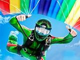 Воздушные трюки: Симулятор парашютиста