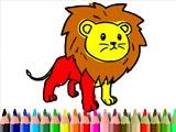 Раскраски львов