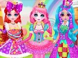 Принцессы сладкие конфеты