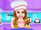 Винси готовит красный бархатный торт