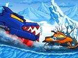 Машина ест машину: Зимняя гонка