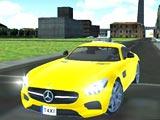 Такси симулятор в большом городе
