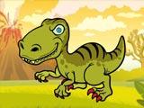 Смешные раскраски динозавров