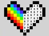 Пиксели по номерам