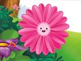 Смешные цветы пазлы