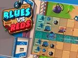 Голубые против красных