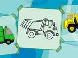 Раскраска грузовиков