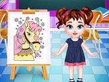Малышка тейлор: Урок рисования