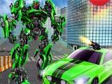 Большой робот трансформер 3Д