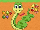 Фруктовая змейка
