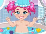 Капризная Элли в ванной