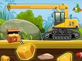Золотодобывающий автокран