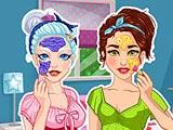 Кристалл и Оливия: реальный макияж