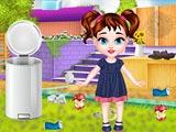 Малышка Тейлор: Уборка во дворе
