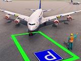 Парковка самолета 3Д