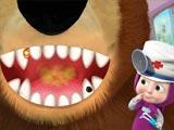 Маша и Медведь: Лечить зубы