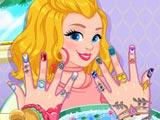 Гламурные ногти Одри