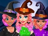 Дизайн платья ведьм для принцесс