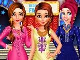Принцессы: Индийская гала мода