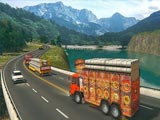Индийский грузовик в порту