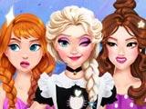 Новый наряд принцесс своими руками