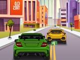 Автомобильное движение 2D