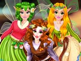 Показ мод фей принцесс