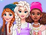 Модные уличные наряды принцесс