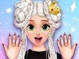 Новые ногти принцессы