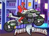 Могучие Рейнджеры на мотоциклах