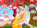 Влюбленные под деревом