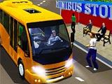 Водитель городского микроавтобуса
