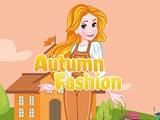 Кейтлин одевается осенью