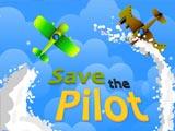 Спасите пилота самолета