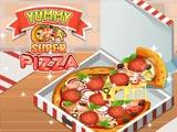 Вкусная супер пицца